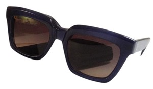 Céline CL 41023/S Blue frame with brown gradient lenses