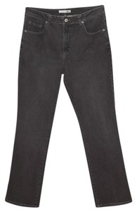Chico's Muted Straight Leg Jeans-Dark Rinse