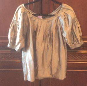 BCBGMAXAZRIA Top Pewter