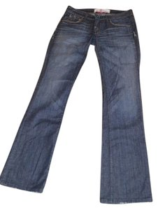 Easy Money Jean Company Lover Vintage Size 27 Boot Cut Jeans-Medium Wash