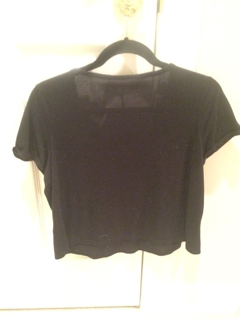 PacSun T Shirt Black and White
