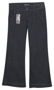 Other Premium Royal Blue Trouser/Wide Leg Jeans-Dark Rinse