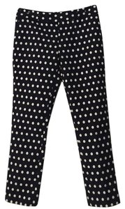 Banana Republic Capri/Cropped Pants navy/ white