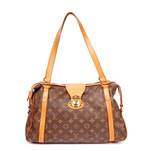 Louis Vuitton Stresa Canvas Totes Shoulder Bag