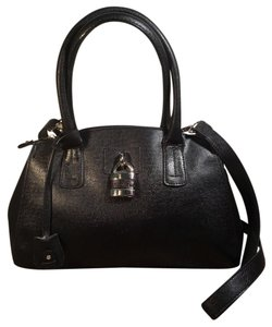 London Fog Satchel in Black