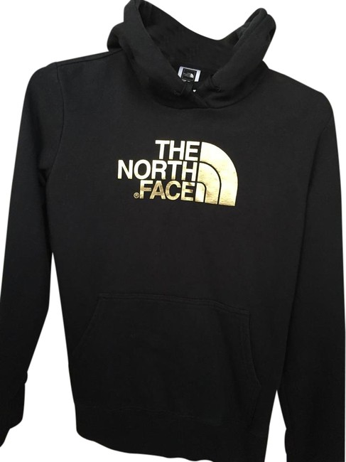 Item - Black with Gold Half Dome Activewear Outerwear Size 8 (M, 29, 30)
