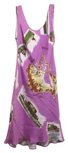 Tibi short dress Lavender, purple Canada Map on Tradesy