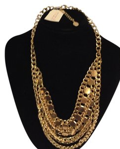 Macy's Macy's Gold Chain 7 layer Fashion Necklace from Macy's new