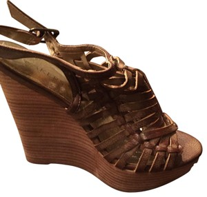 Bakers Tan Wedges
