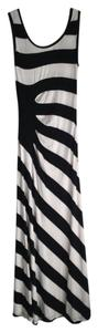 Black and white Maxi Dress by Calvin Klein