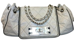 Chanel Lambskin Leather Chain Shoulder Bag