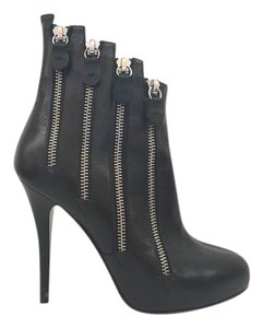Giuseppe Zanotti Zippers Ankle black Boots