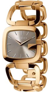 Gucci G-Gucci Small Watch Brown and Gold