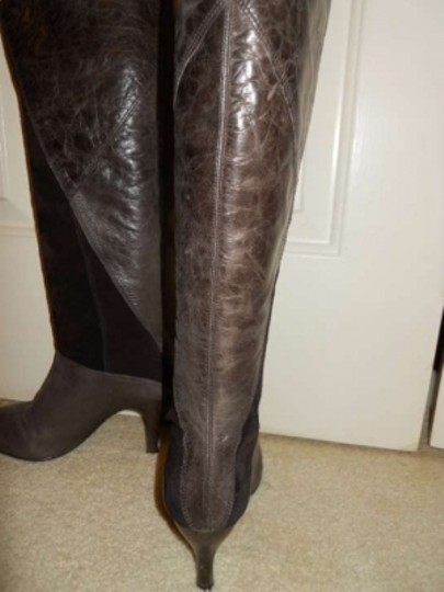 Gianni Bini Leather Suede brown Boots