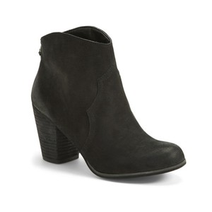 BP. Clothing Bootie Suede black Boots