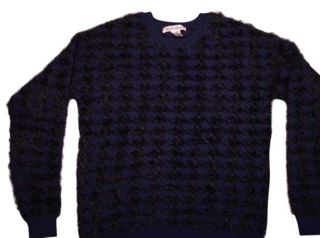 BCBGeneration Blue and Black Sweater BCBGeneration Blue and Black Sweater Image 1