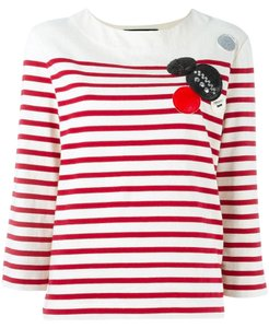 Marc Jacobs Top red/cream