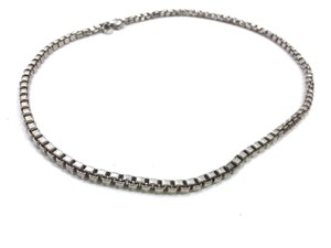 Tiffany & Co. Tiffany & Co Sterling Silver Venetian Link Necklace