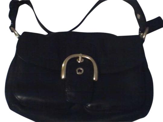 Preload https://item2.tradesy.com/images/coach-soho-double-pocket-flap-purse-black-leather-hobo-bag-198071-0-0.jpg?width=440&height=440