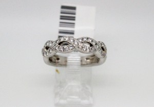 4/5ct Infinity Twist Diamond Wedding Band