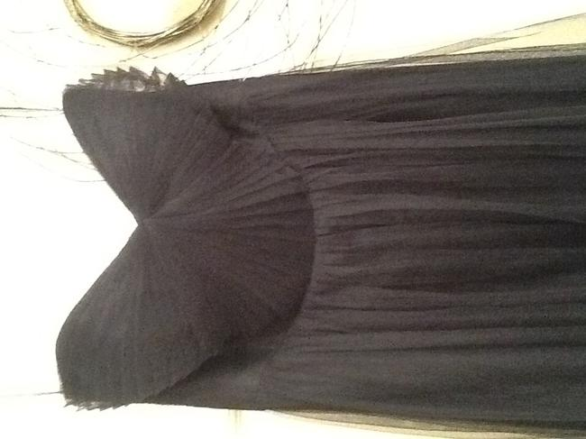 Item - Navy Tulle Convertible May Be Aiden Style Modern Bridesmaid/Mob Dress Size 6 (S)
