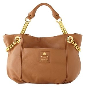 Juicy Couture Satchel in cognac