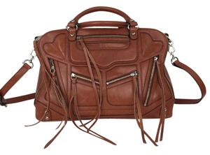 Rebecca Minkoff Satchel in Luggage