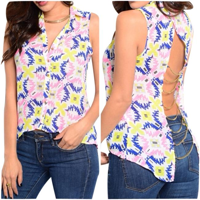 Preload https://item1.tradesy.com/images/pink-blouse-size-12-l-1980725-0-0.jpg?width=400&height=650