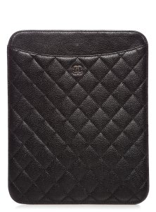 Chanel Caviar Quilted iPad Case