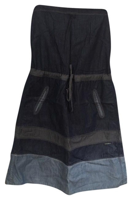 Preload https://img-static.tradesy.com/item/19807264/diesel-blue-strapless-chambray-by-above-knee-short-casual-dress-size-12-l-0-1-650-650.jpg