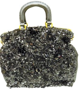 Prada Sequin Handbag Shoulder Bag