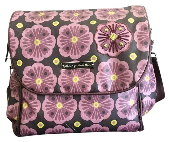 Item - Backpack Boxy Purple Diaper Bag