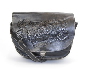 Patricia Nash Designs Italian Leahter Fall Winter Cross Body Bag