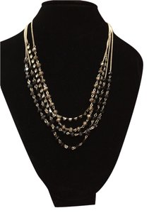 Ali-Khan c.A.K.e. 4 layer necklace