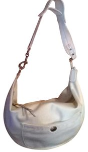 Coach Satin Soft Hobo Bag