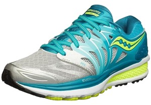 Saucony Breathable Blue, Light Blue, Citron Athletic