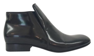 Cline Patent Leather Black Boots