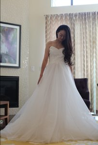 Monique Lhuillier Bliss Collection Tulle Wedding Dress