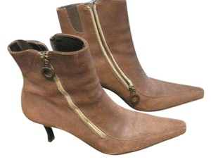 Donald J. Pliner Brown Suede Boots