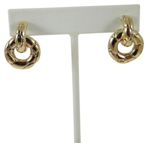 John Hardy John Hardy 18K Yellow Gold Kali Doorknocker Earrings