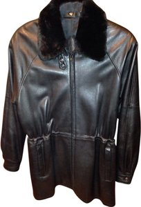 Saks Fifth Avenue Leather Jacket