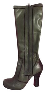 Chie Mihara 70's Olive Boots