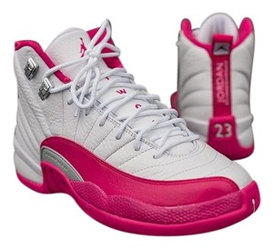 Air Jordan 23 12gs white and Pink Athletic
