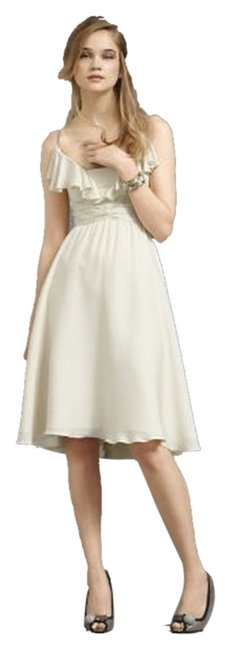 Anthropologie Vintage Wedding Silk Dress