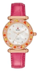 Michele NEW CABER TOPAZ PINK SPRINKLES ROSE GOLD, DIAMOND DIAL MW16A42B5046