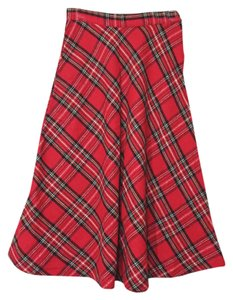 Other Skirt Red plaid