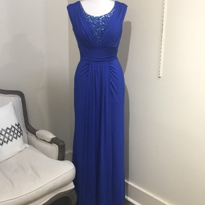 Jade Couture Lapis Formal Bridesmaid/Mob Dress Size 4 (S)
