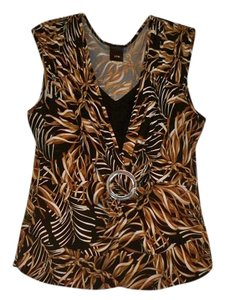 JTB Silver Hardware Top Brown, Black