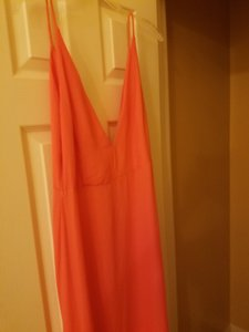 Coral Maxi Dress by Blue Blush