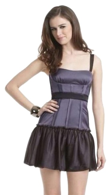 Preload https://item2.tradesy.com/images/bcbgmaxazria-grey-purple-mia-dewberry-corset-short-cocktail-dress-size-12-l-19808466-0-1.jpg?width=400&height=650